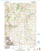Download a high-resolution, GPS-compatible USGS topo map for Franklin, WI (1996 edition)