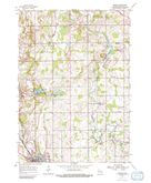 Download a high-resolution, GPS-compatible USGS topo map for Franklin, WI (1991 edition)