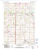 Download a high-resolution, GPS-compatible USGS topo map for Franksville, WI (1994 edition)