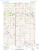 Download a high-resolution, GPS-compatible USGS topo map for Franksville, WI (1991 edition)