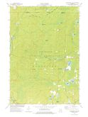 Download a high-resolution, GPS-compatible USGS topo map for Fredenberg Lake, WI (1977 edition)