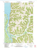 Download a high-resolution, GPS-compatible USGS topo map for Genoa, WI (1983 edition)