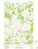 Download a high-resolution, GPS-compatible USGS topo map for Gilman, WI (1982 edition)