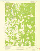 Download a high-resolution, GPS-compatible USGS topo map for Gleason, WI (1976 edition)