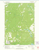 Download a high-resolution, GPS-compatible USGS topo map for Goodman, WI (1974 edition)