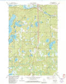 Download a high-resolution, GPS-compatible USGS topo map for Gordon, WI (1982 edition)