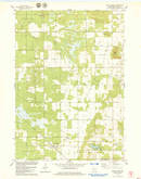 Download a high-resolution, GPS-compatible USGS topo map for Grand Marsh, WI (1979 edition)