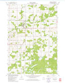 Download a high-resolution, GPS-compatible USGS topo map for Granton, WI (1980 edition)
