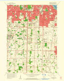Download a high-resolution, GPS-compatible USGS topo map for Greendale, WI (1960 edition)