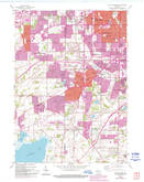 Download a high-resolution, GPS-compatible USGS topo map for Hales Corners, WI (1994 edition)