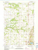 Download a high-resolution, GPS-compatible USGS topo map for Hancock, WI (1984 edition)