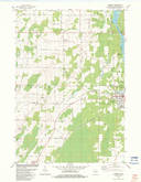 Download a high-resolution, GPS-compatible USGS topo map for Harmony, WI (1983 edition)