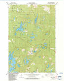 Download a high-resolution, GPS-compatible USGS topo map for Hart Lake, WI (1984 edition)
