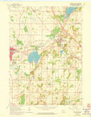 Download a high-resolution, GPS-compatible USGS topo map for Hartford East, WI (1973 edition)
