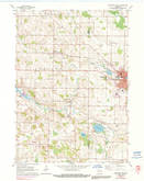 Download a high-resolution, GPS-compatible USGS topo map for Hartford West, WI (1991 edition)