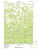 Download a high-resolution, GPS-compatible USGS topo map for Hatfield NE, WI (1985 edition)