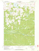 Download a high-resolution, GPS-compatible USGS topo map for Hatfield NE, WI (1972 edition)