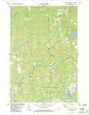 Download a high-resolution, GPS-compatible USGS topo map for Hay Creek Flowage, WI (1984 edition)