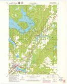Download a high-resolution, GPS-compatible USGS topo map for Hayward, WI (1979 edition)