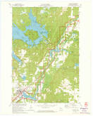 Download a high-resolution, GPS-compatible USGS topo map for Hayward, WI (1973 edition)