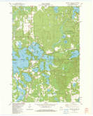 Download a high-resolution, GPS-compatible USGS topo map for Heafford Junction, WI (1983 edition)