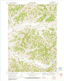 Download a high-resolution, GPS-compatible USGS topo map for Hegg, WI (1991 edition)