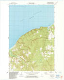 Download a high-resolution, GPS-compatible USGS topo map for Herbster, WI (1984 edition)
