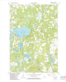 Download a high-resolution, GPS-compatible USGS topo map for Hertel, WI (1983 edition)