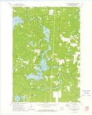 Download a high-resolution, GPS-compatible USGS topo map for High Falls Reservoir, WI (1975 edition)