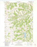 Download a high-resolution, GPS-compatible USGS topo map for Highland East, WI (1983 edition)