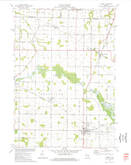 Download a high-resolution, GPS-compatible USGS topo map for Hilbert, WI (1977 edition)