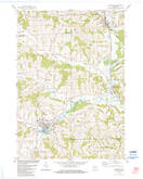 Download a high-resolution, GPS-compatible USGS topo map for Hillsboro, WI (1984 edition)