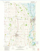 Download a high-resolution, GPS-compatible USGS topo map for Horicon, WI (1981 edition)