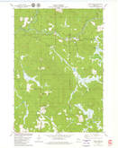Download a high-resolution, GPS-compatible USGS topo map for Horse Creek, WI (1980 edition)