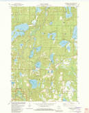 Download a high-resolution, GPS-compatible USGS topo map for Horseshoe Lake, WI (1982 edition)