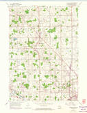 Download a high-resolution, GPS-compatible USGS topo map for Howards Grove, WI (1974 edition)