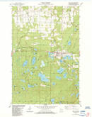 Download a high-resolution, GPS-compatible USGS topo map for Iron Lake, WI (1984 edition)