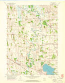 Download a high-resolution, GPS-compatible USGS topo map for Ixonia, WI (1972 edition)