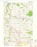 Download a high-resolution, GPS-compatible USGS topo map for Jackson, WI (1977 edition)