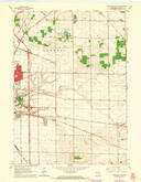 Download a high-resolution, GPS-compatible USGS topo map for Janesville East, WI (1964 edition)