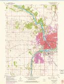 Download a high-resolution, GPS-compatible USGS topo map for Janesville West, WI (1977 edition)