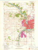 Download a high-resolution, GPS-compatible USGS topo map for Janesville West, WI (1972 edition)