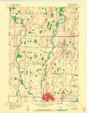 Download a high-resolution, GPS-compatible USGS topo map for Jefferson, WI (1961 edition)