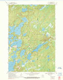 Download a high-resolution, GPS-compatible USGS topo map for Julia Lake, WI (1990 edition)