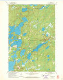 Download a high-resolution, GPS-compatible USGS topo map for Julia Lake, WI (1972 edition)