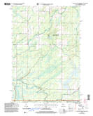 Download a high-resolution, GPS-compatible USGS topo map for Jump River Fire Tower NE, WI (2006 edition)