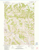 Download a high-resolution, GPS-compatible USGS topo map for Kendall East, WI (1984 edition)