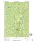 Download a high-resolution, GPS-compatible USGS topo map for Kennedy, WI (1992 edition)