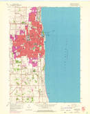 Download a high-resolution, GPS-compatible USGS topo map for Kenosha, WI (1972 edition)