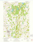 Download a high-resolution, GPS-compatible USGS topo map for Kewaskum, WI (1977 edition)
